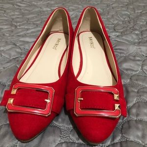 Bamboo red flats